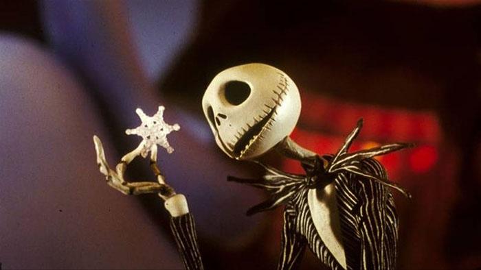 Jack Skellington Holding a Snowflake