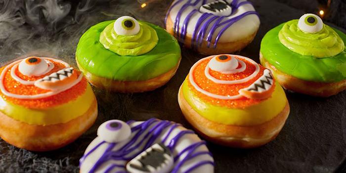 Krispy Kreme's Halloween Monster Donuts