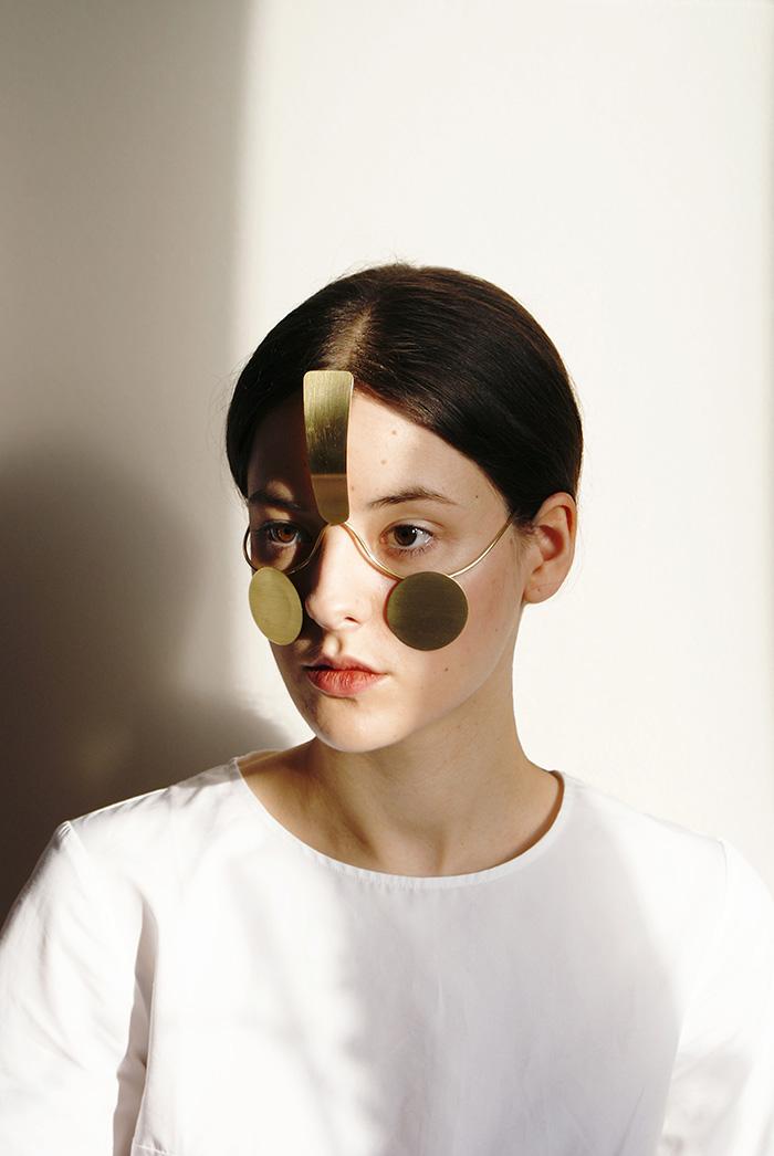 Lady Wearing Incognito Mask by Ewa Nowak
