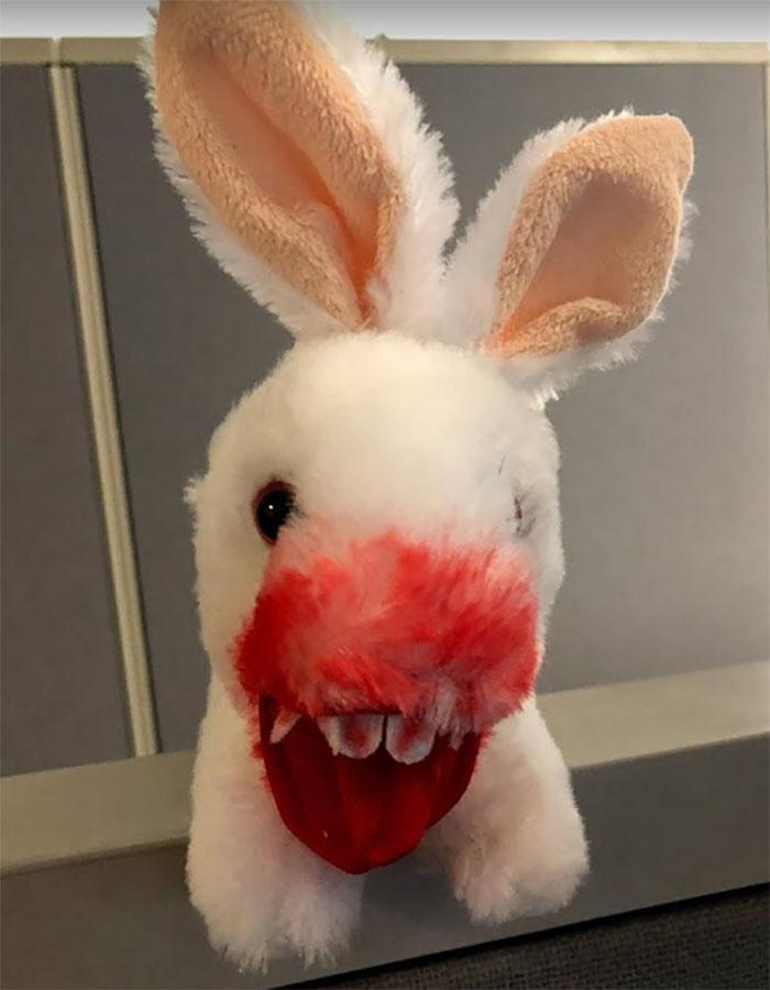 Monty Python Killer Rabbit toy
