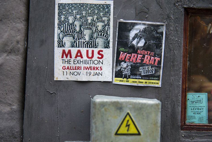 Mouse Puns Posters on Wall