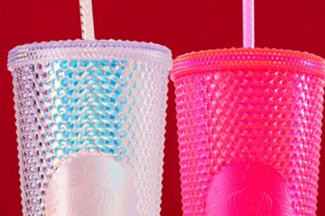 Neon Pink Tumblers