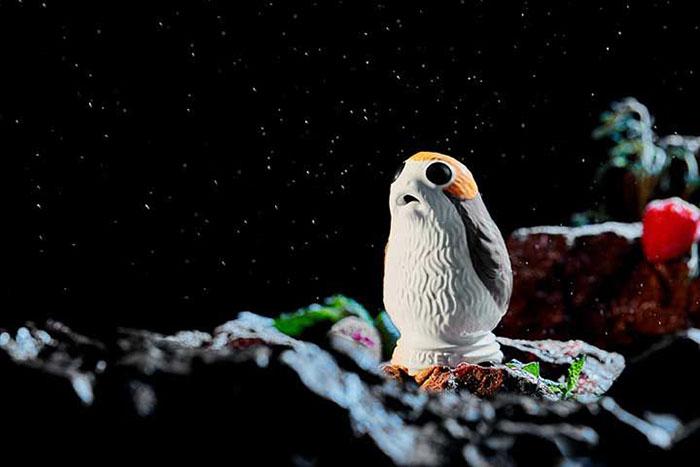 Porg Pie Bird