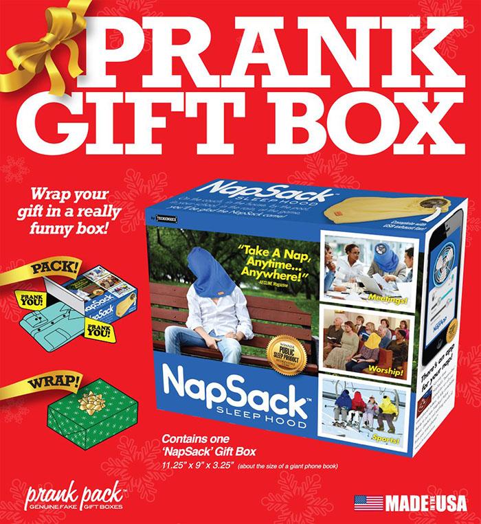 Prank Gift Box by Prank-o