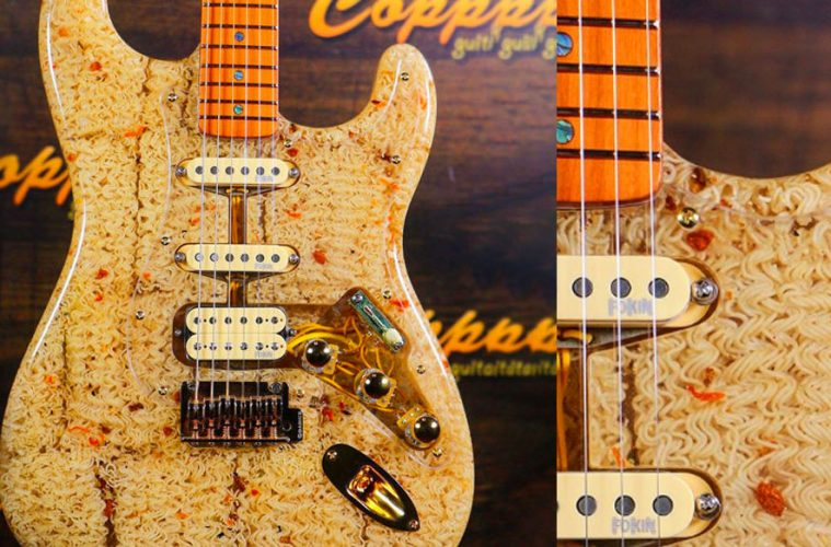 Ramen Noodle Electric Guitar