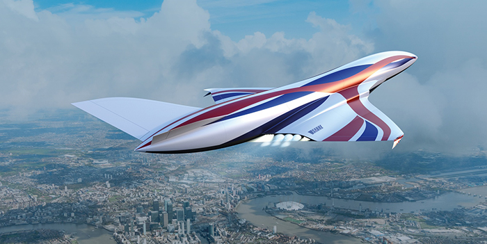 Flight Simulation Sabre Rocket Engine