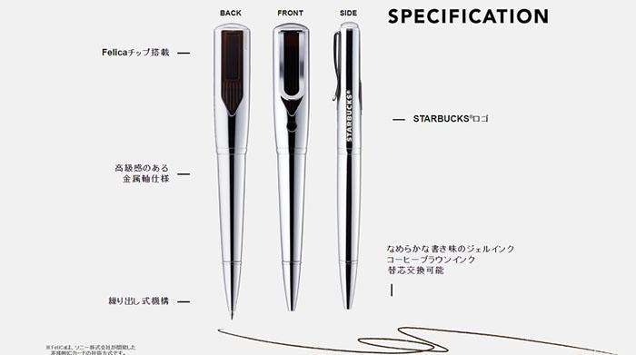 Starbucks Coffee Pen Specifications