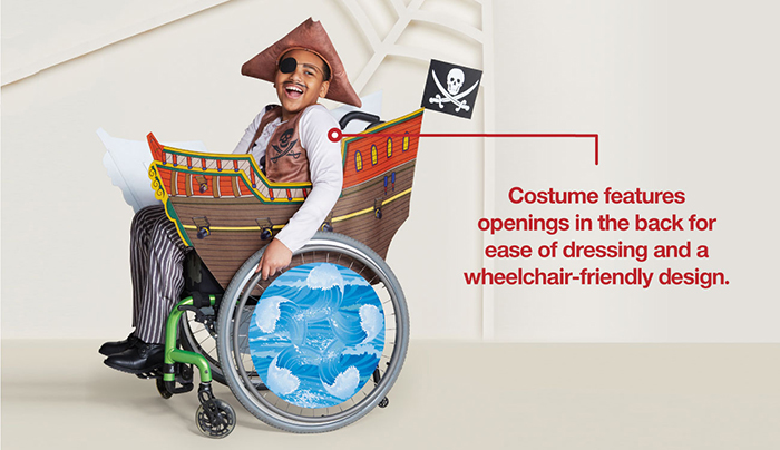 Target Inclusive Halloween Costumes pirate details