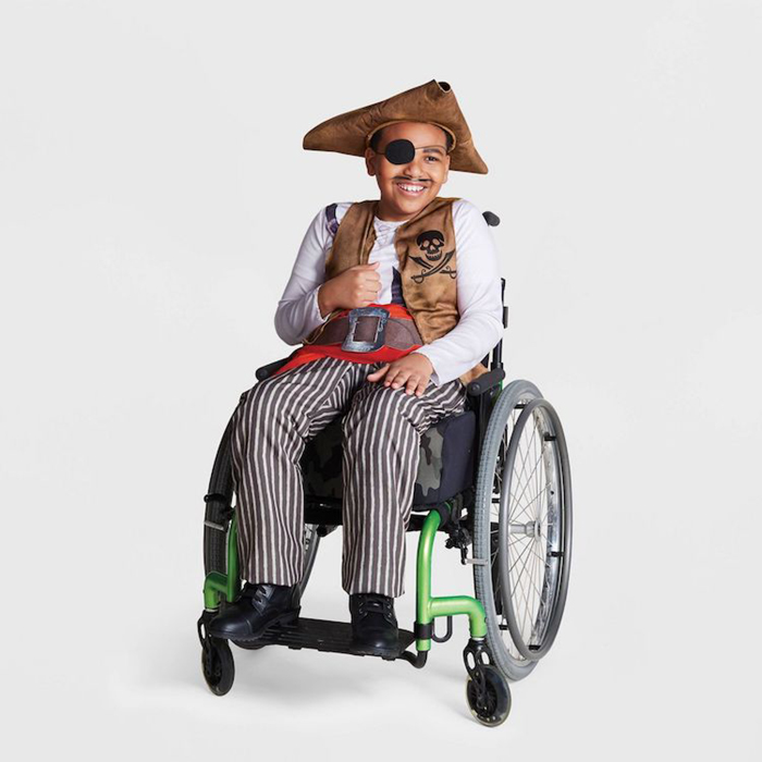 Target Inclusive Halloween Costumes pirate sans ship attachment