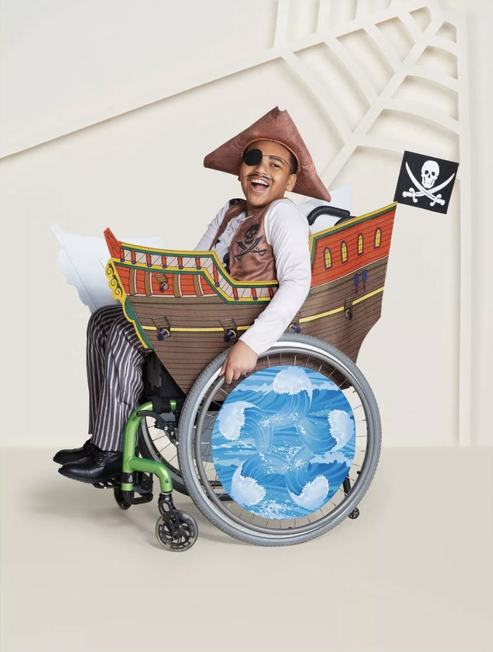 Target Inclusive Halloween Costumes pirate
