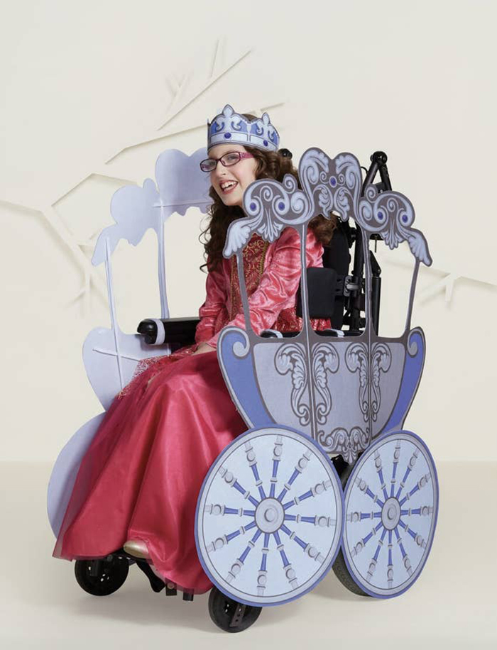 Target Inclusive Halloween Costumes princess carriage