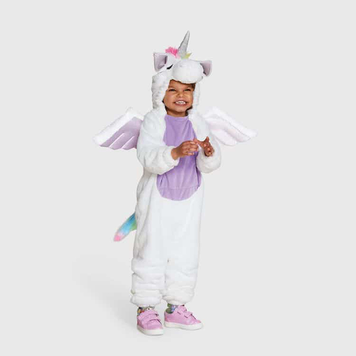 Target Inclusive Halloween Costumes purple unicorn