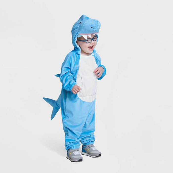 Target Inclusive Halloween Costumes shark for sensory impaired