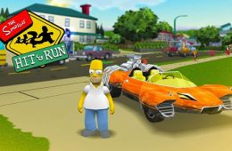 The Simpsons Hit & Run Promotional Poster