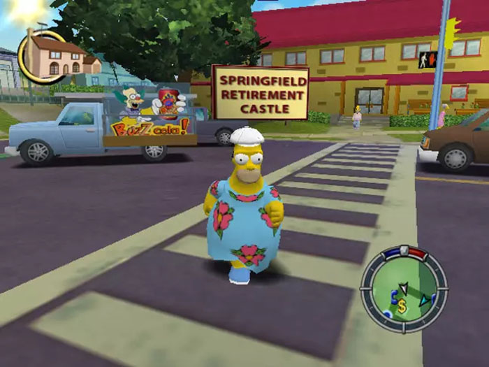 The Simpsons Hit & Run Remastered In-game Screenshot 2