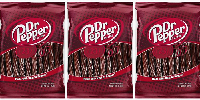 Three Packs of Dr. Pepper Licorice