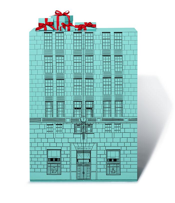 Tiffany & Co's Advent Calendar Doors Closed
