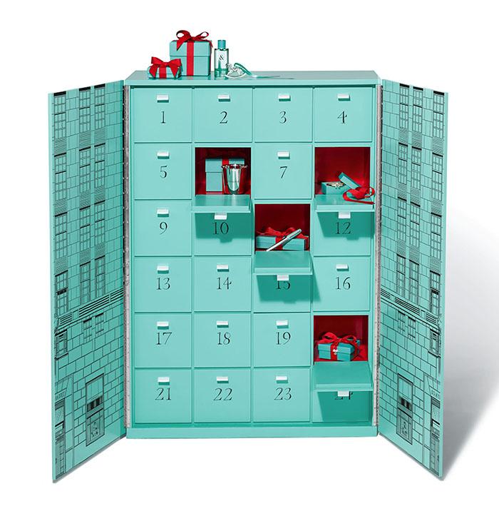 Tiffany & Co's Advent Calendar Doors Open