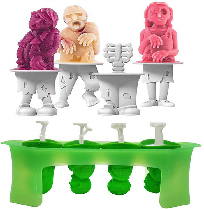 Zombie Popsicle Molds