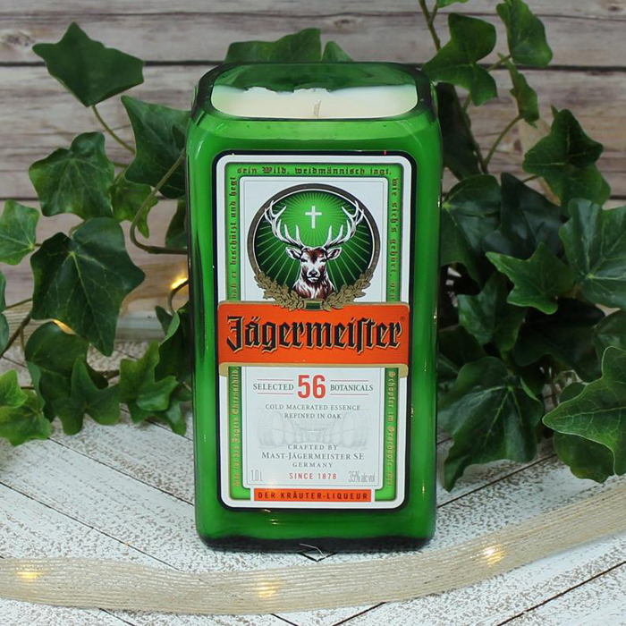alcoholic drink candles jagermeister
