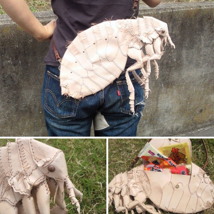 amaheso creature-inspired handbags flea