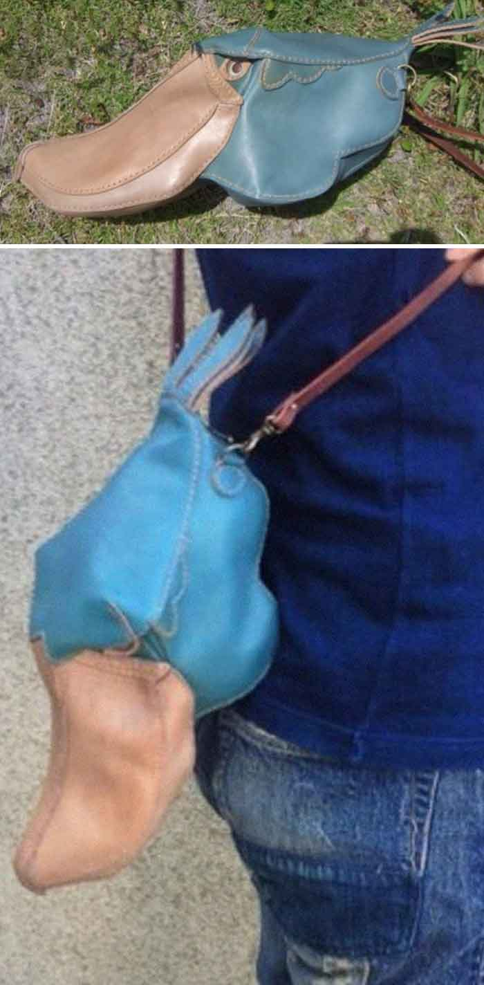 amaheso creature-inspired handbags platypus