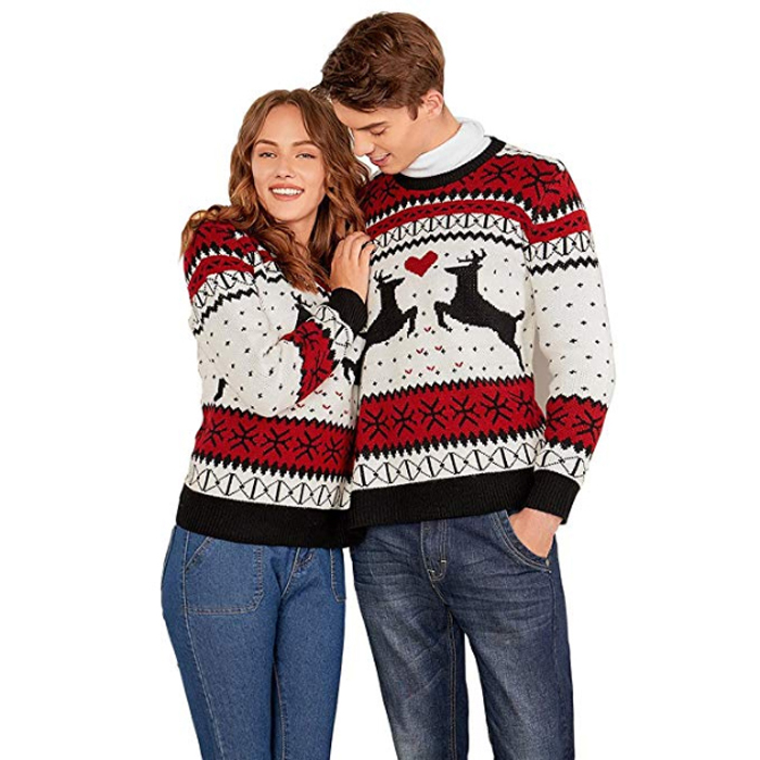 amazon two person ugly christmas sweater