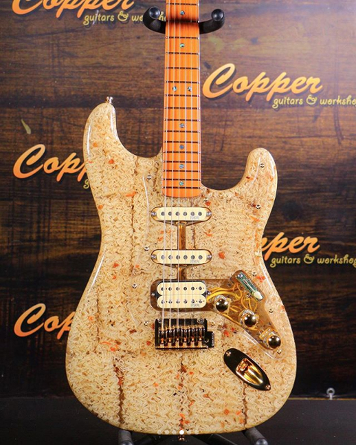 art mayer ramen noodle electric guitar cooper guitars