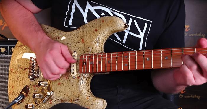 art mayer ramen noodle electric guitar