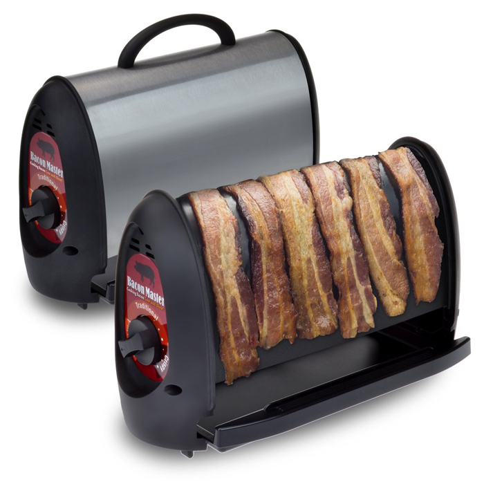 automatic bacon cooker design