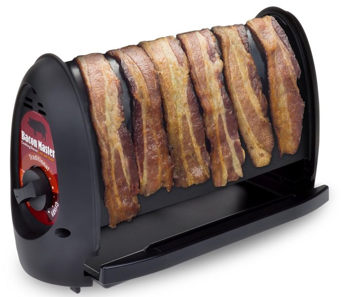 automatic bacon cooker vertical pan