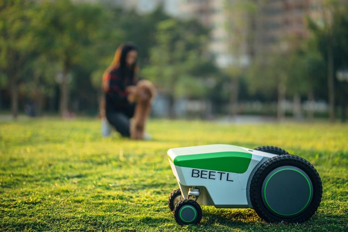 beetl autonomous dog poop robot