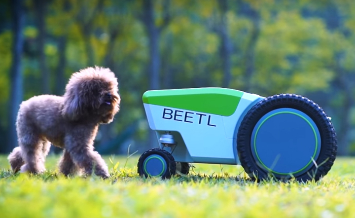 beetl dog poop robot