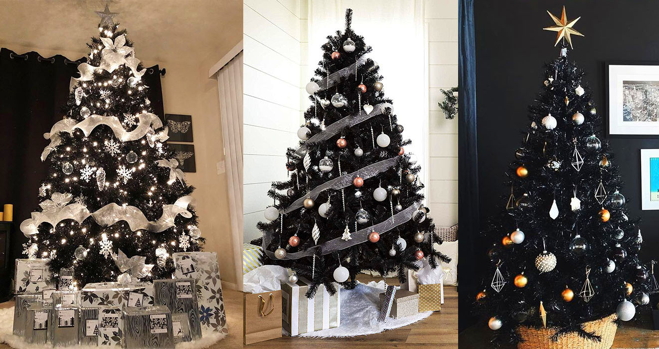 Black Christmas Tree.Black Christmas Trees Are Becoming More Popular And It S