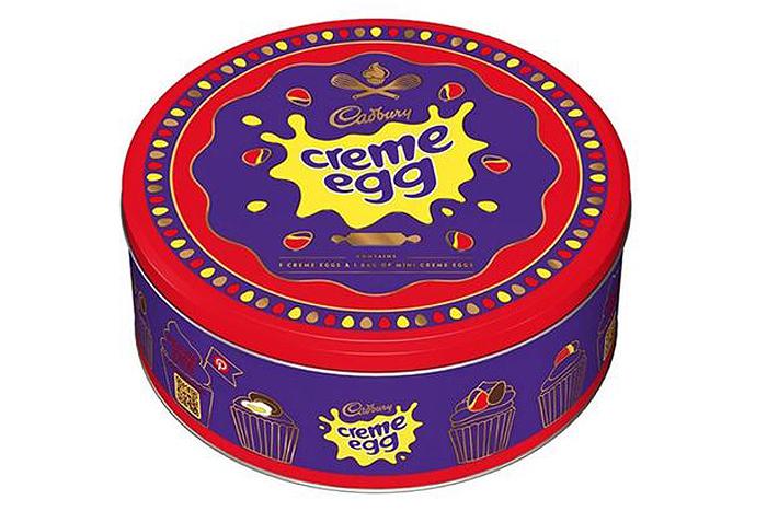 cadbury creme egg tin