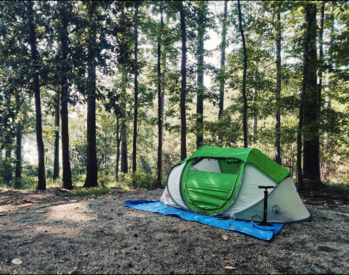 coleman 4-person pop-up tent outdoor camping