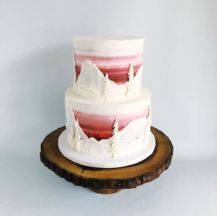 darci amazing cakes alpine sunset