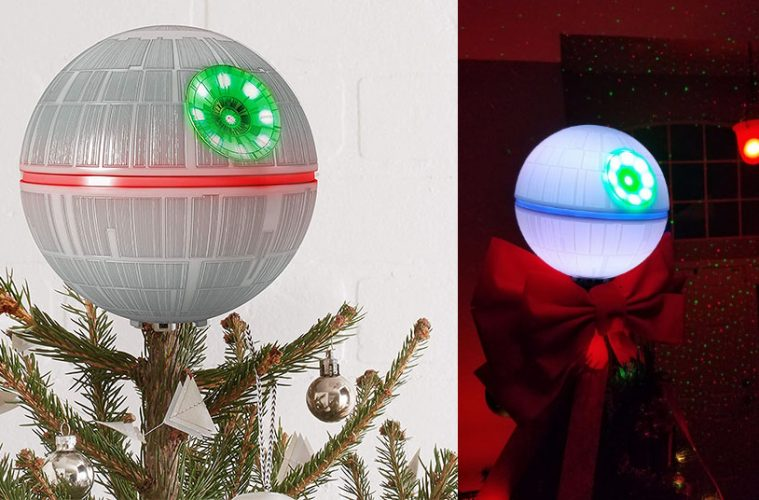 death star tree topper