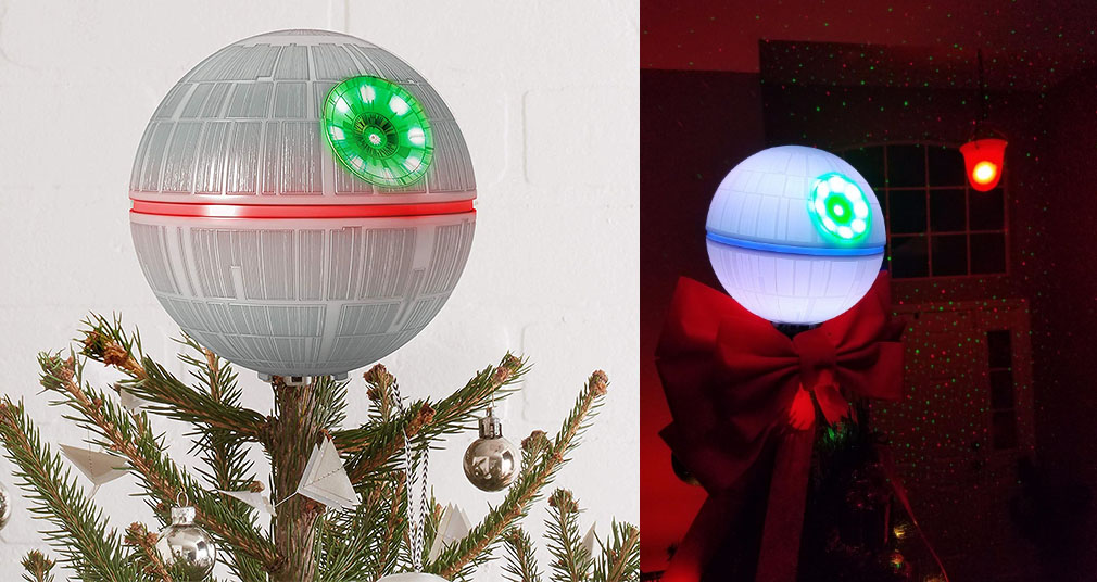 This Death Star Christmas Tree Topper Is A Must Have For