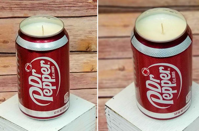 dr pepper candle