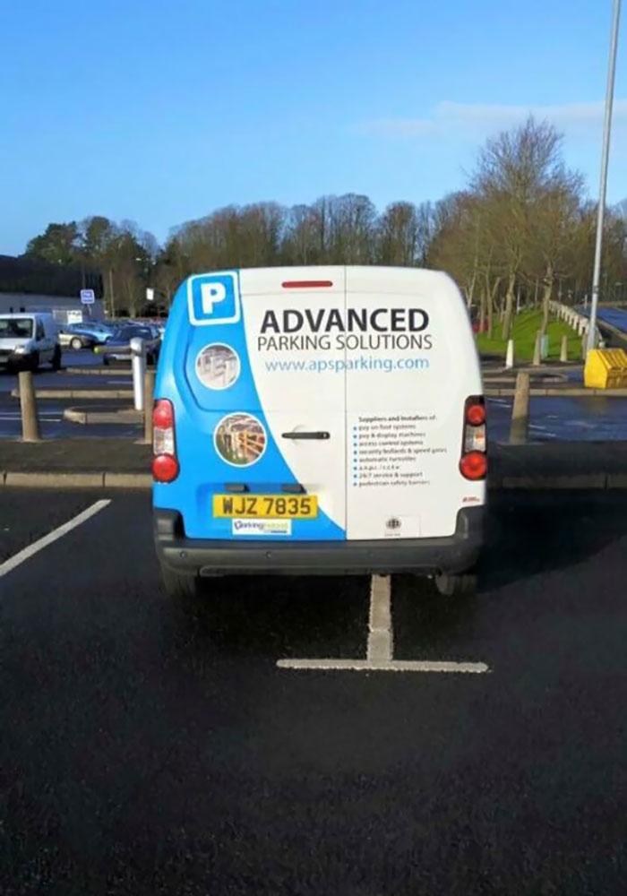 dumb parking ironic moments