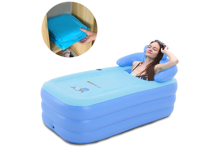 eosaga inflatable spa bath tub deflate