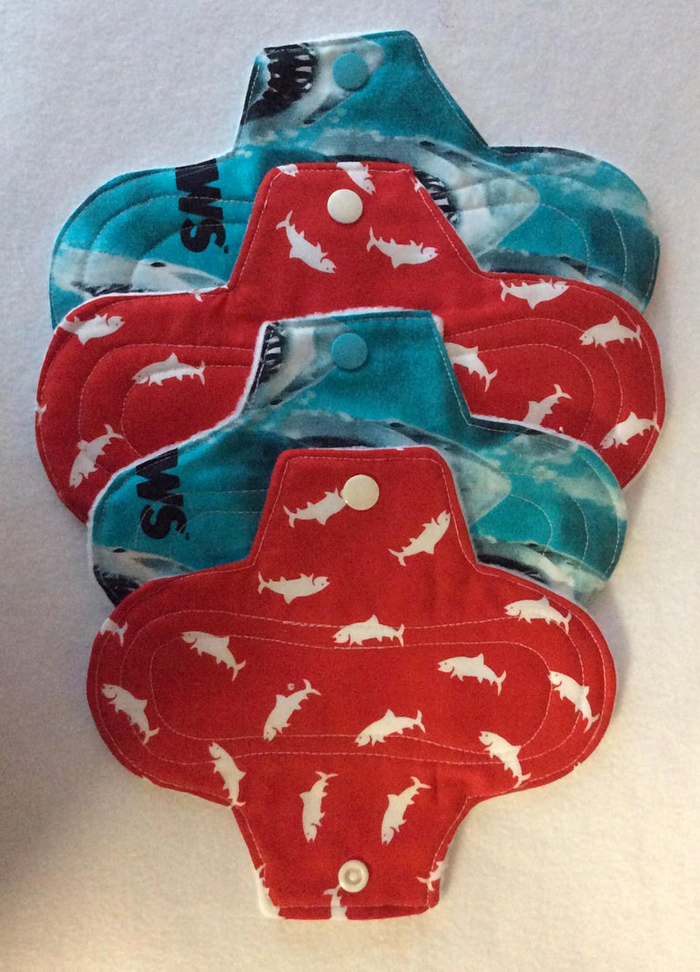 etsy jaws reusable menstrual pads washable