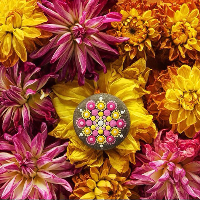 flowery image