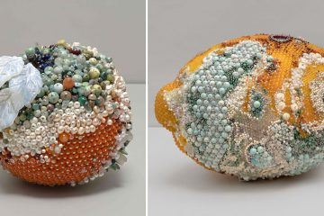 fruit gemstone sculptures