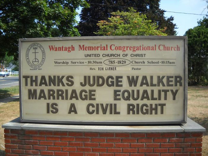 funny church signs marriage equality