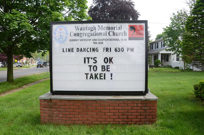 funny church signs takei