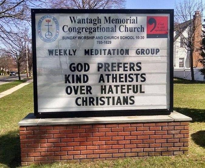 funny church signs wantagh