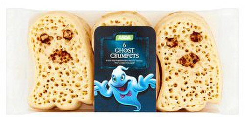ghost crumpets packaging