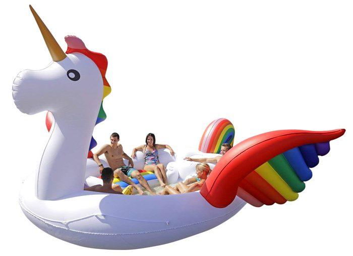 giant inflatable unicorn amazon